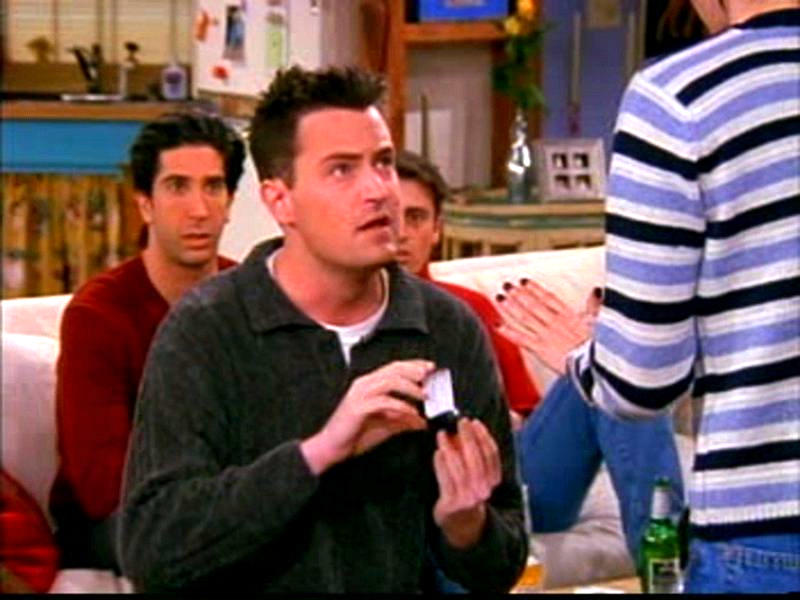 Actual Engagement Ring Monica Chandler Friends